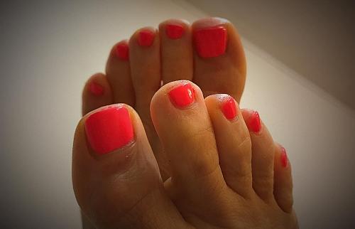 Zomerse tenen